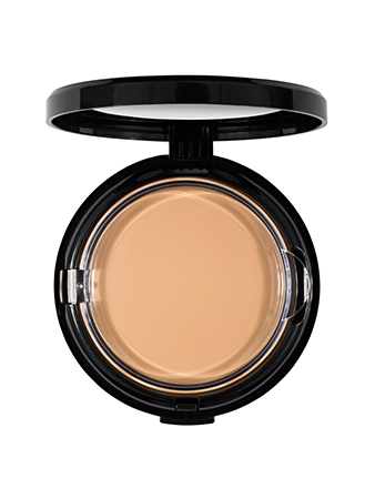 Make-Up Atelier Paris HD Powder Foundation Beige TCHD4NB Тон компактный с зеркалом HD 4NB золотистый бежевый