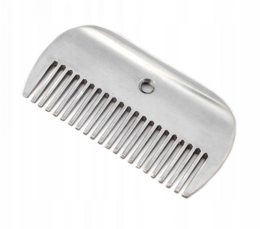 Гребешок (Расческа) металлическая с редкими зубьями