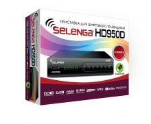 приставка цифрового телевидения DVB-T2 SELENGA HD 950D
