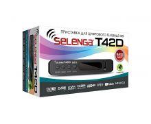 приставка цифрового телевидения DVB-T2 SELENGA T 42D