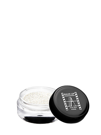 Make-Up Atelier Paris Cream Eyeshadow ESCBARG Тени для век серебристо белый