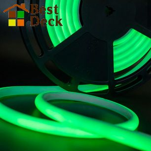 Светодиодная термолента для сауны, 24В, IP68, цвет: Зеленый