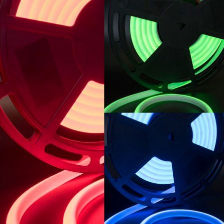 Светодиодная термолента для сауны, 24В, IP68, цвет: RGB