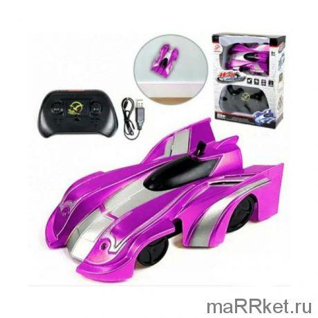Радиоуправляемая антигравитационная машинка CLIMB FORCE (розовый)