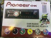 1784 Магнитола PioneeirOK +USB+AUX+Радио
