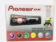 1776 Магнитола PioneeirOK +USB+AUX+Радио