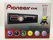 1777 Магнитола PioneeirOK +USB+AUX+Радио