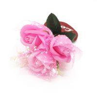 Букет мыльных роз и Сердце (цвет розовый)_2