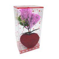 Букет мыльных роз и Сердце (цвет розовый)_3
