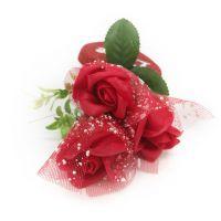 Букет мыльных роз и Сердце (цвет красный)_2