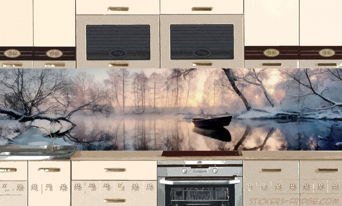 Фартук для кухни - Озеро
