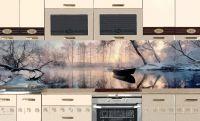 Фартук для кухни- Озеро | интерьерные наклейки