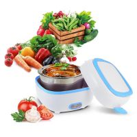 Контейнер Для Еды С Подогревом Electric Lunch Box (цвет голубой)