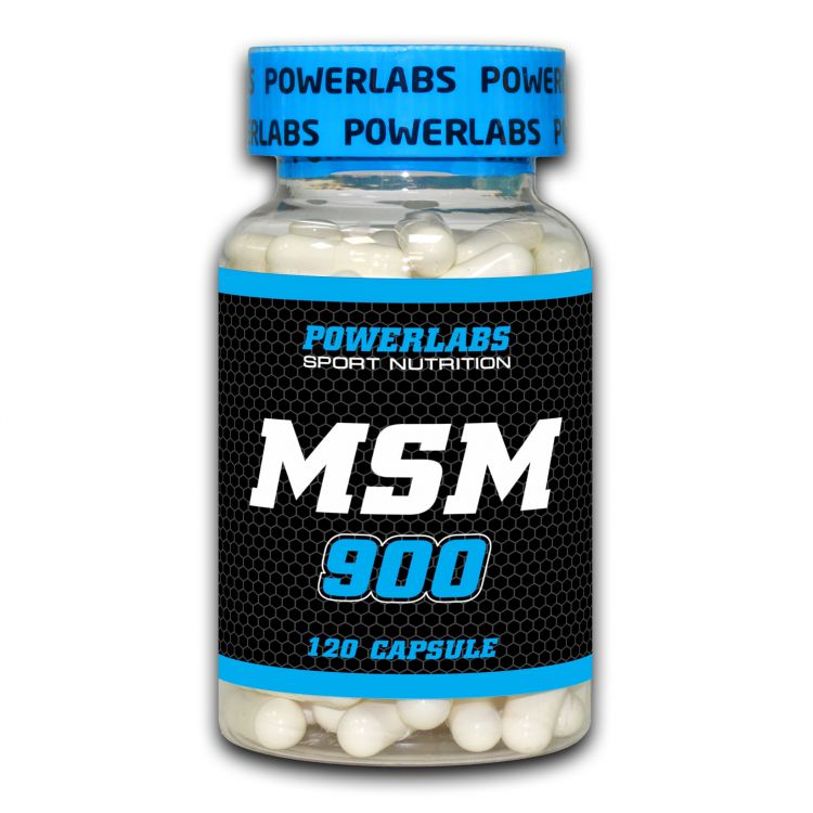 MSM-900 от POWERLABS 120 капсул