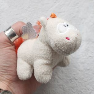 Единорог для куклы Nici, 10 см