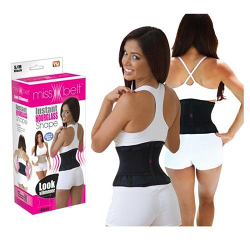 Пояс для формирования фигуры и похудения Miss Belt, размер L/XL.