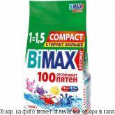 BiMax 100 пятен автомат.Стиральный порошок 3000гр мягкая упак., шт