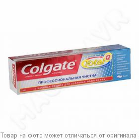 "COLGATE.TOTAL 12.Зубная паста ""Проф. чистка"" 75мл, шт"