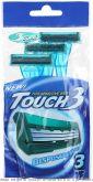 DORCO Touch3.Однораз. станок, плав.головка с 3 лезвиями и увл.полосой 3шт., шт