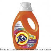 """TIDE.Жидкий стиральный порошок """"COLOR"""" 1,235л, шт"""