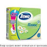 Zewa Plus.Туалетная бумага 2-х сл.ромашка 8 КУБ, шт