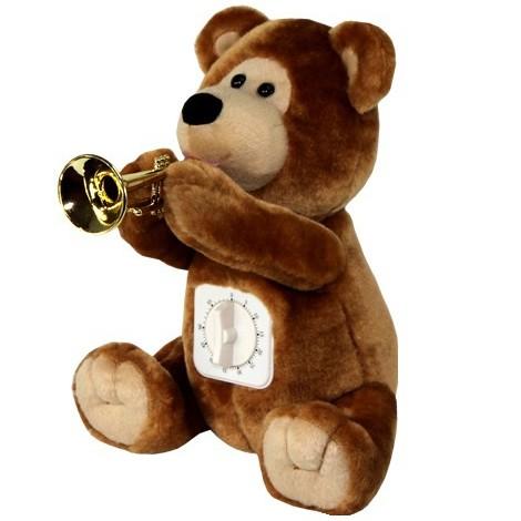 Медвежонок с таймером музыкальный