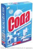 Сода кальценированная Эффект 400гр карт/п, шт