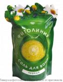 ФИТОЛИНИЯ.Соль для ванн с эфирн. маслами - ЧЕРЕДА 1000 гр. (дой-пак), шт