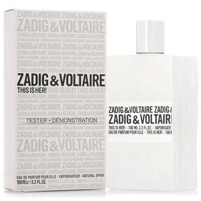 Tестер Zadig & Voltaire This is Her 100 мл