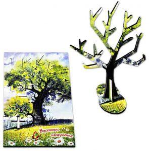 Подарочная открытка «Весеннего настроения»