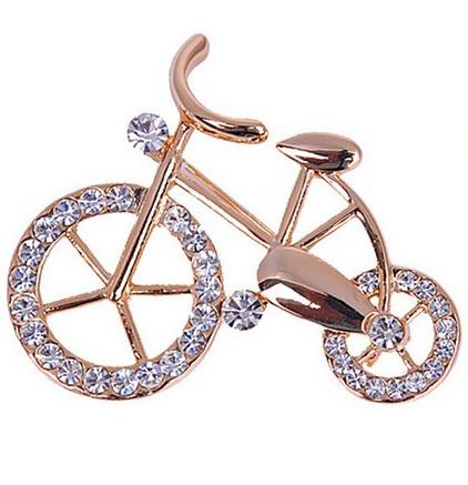 Брошь Велосипед