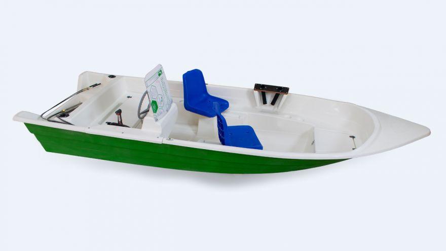 Лодка моторно-гребная пластиковая ВИЗА Легант-427
