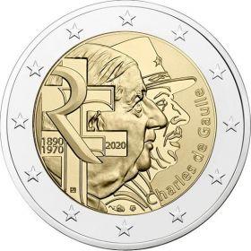 80 лет «воззванию Шарля де Голля ко всем французам» 18.06.1940  2 евро Франция 2020