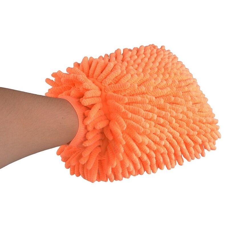 Тряпка-Рукавица Из Микрофибры Super Mitt (цвет оранжевый)