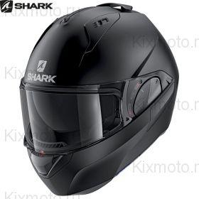 Мотошлем Shark Evo Es Blank, Черный матовый