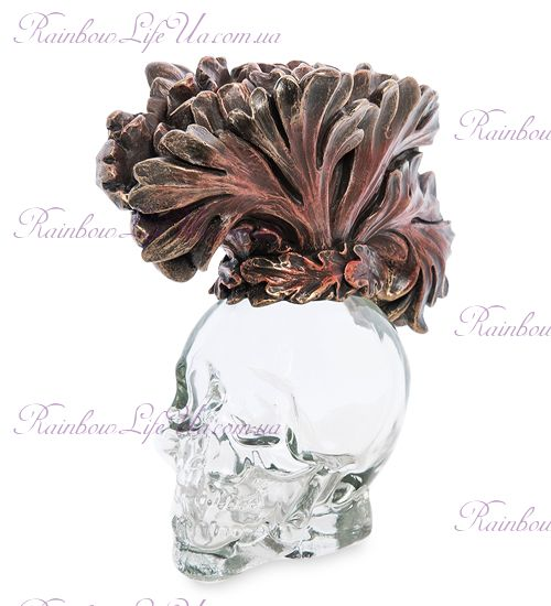 "Флакон стеклянный череп ""Veronese"""