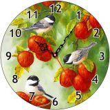 Часы деревянные СИНИЧКИ ЧС-02.25