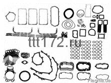 Полный комплект прокладок ДВС. DSC12 03/05-DC12 01-DT12 02
