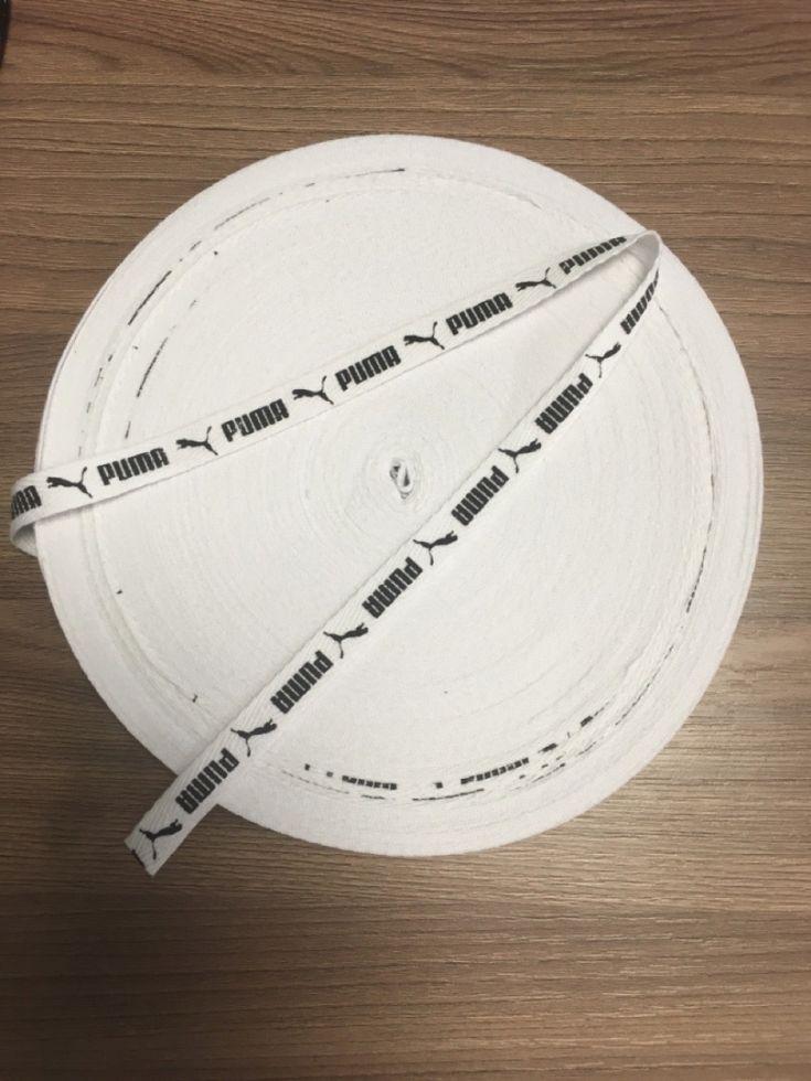 Пума белый  Киперная лента