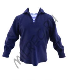 Рубаха фланелевая для рядового и младшего начсостава РККФ (фланка),  реплика  (под заказ)