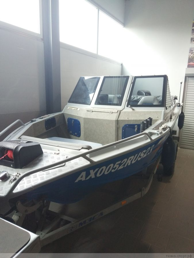 Лодка беркут с мотором suzuki 60