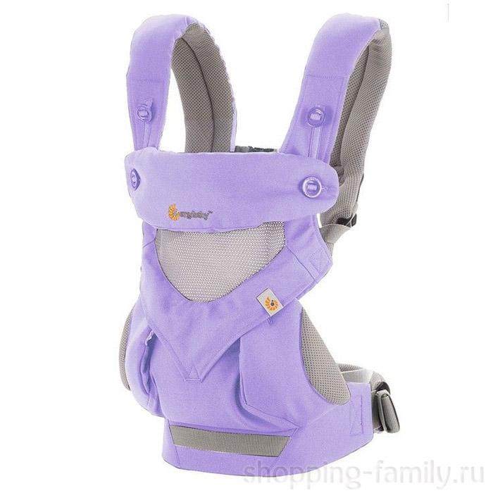 Эрго рюкзак Ergobaby 360 Cool Air baby carrier, Цвет Сиреневый