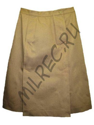 Юбка хлопчато-бумажная для женщин военнослужащих обр. 1942 г., реплика  (под заказ)