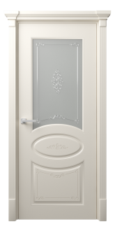 Межкомнатная дверь Фелиция Деко Стекло Вензель