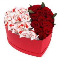 Сердце Рафаэлло и Розы