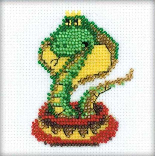 Набор для вышивания бисером Королева змей №1289 фирма Риолис