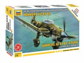 Немецкий бомбардировщик Юнкерс Ju-87B2