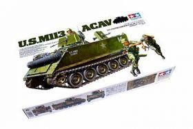 Амер. БМП-амфибия М113 ACAV с внутр.интерьером, 3 фигуры, (варианты-вьетнамский и современный)