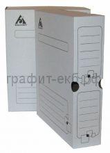Короб архивный 7,5см на картон белый 320x255x75мм Бюрократ ККА-75