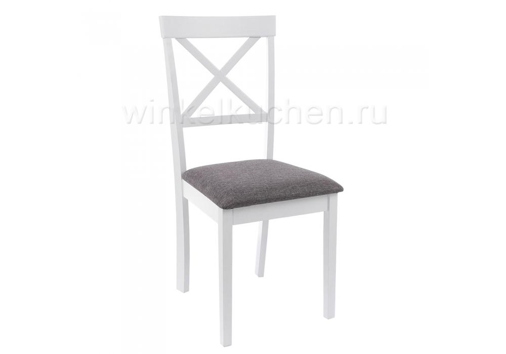 Стул Shem white / light grey